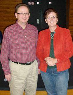 Thomas Liedtke und unsere Europaabgeordnete Birgit Sippel